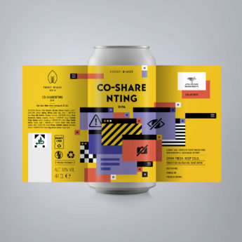 Co-Sharenting - an 8.0 % DIPA from FUERST WIACEK, a craft beer brewery in Berlin - Dry-hopped with Citra, Amarillo, Mosaic, Strata & Vic Secret